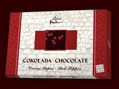 Red pepper Adria chocolate