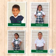 Meet a few Kinder students at Young Living Academy- Michell, Karla, Sara and Elkin!
