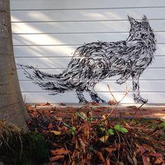 Black Fox #dzia #streetart