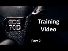 Canon EOS 70D DSLR Camera - Auto Focus Photography Tutorial - Canon - YouTube