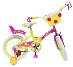 Cool Lalaloopsy Bike, Pink and Yellow,16-Inch