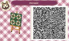 Mosaic Pattern - Animal Crossing New Leaf QR Code