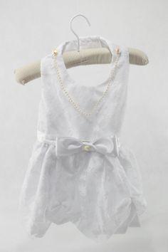 Vestido de Noiva com Renda Tricoline