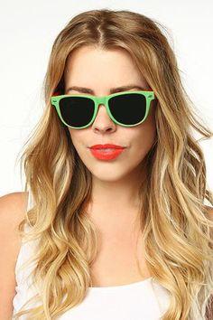 'Dakota' X-Large Two Toned Rubber Coated Wayfarer Sunglasses - Pink/Blue - 5513-1