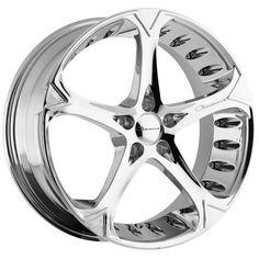 Giovanna Dalar5V Chrome Wheel #chrome #wheel #rim