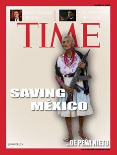 "Time's Peña Nieto 'Saving Mexico' Cover Sparks Confusion, Outrage  Mexicans respond mockingly to ridiculous Time Magazine cover story  Under the banner of ""Saving Mexico,"" Time Magazine has put Enrique Peña Nieto on the cover of its February 24 international edition.  Many who first saw the cover this morning responded with, ""Is this a joke?"" When people realized it wasn't, it unleashed a backlash in Mexico and from Mexicans throughout the world toward Time and the cover story's author…"