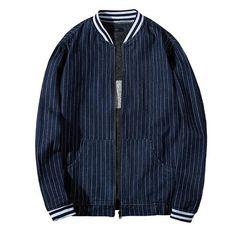 Denim Jacket Men, Denim Coat, Bomber Jacket, Plus Size, Mens Fashion, Sleeves, Jackets, Clothes, Autumn