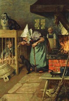 Kubel, Otto (b,1868)- Hänsel & Gretel
