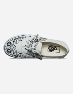 1aafe2de2f99f4 VANS Authentic Floral Bandana Knotted Marshmallow Womens Shoes - BIRCH -  325716476
