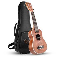 Are you searching for the best ukulele for beginners? Maybe we can help you find the best starter ukulele. So click the link below and get your desired ukulele. Ukulele Soprano, Tenor Ukulele, Ukulele Songs, Ukulele For Sale, Nylons, Ukulele Case, Small Guitar, Musical Instruments, Bffs