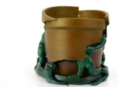 Looking for a great #3dprinting #airbrush project? Check out Cracked Flower pot @thingiverse http://www.thingiverse.com/thing:905968