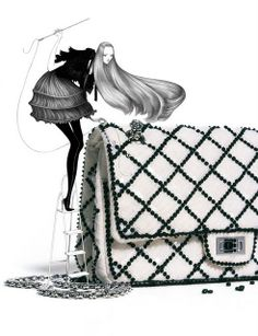 #Chanel Illustration #Accessories