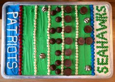 Super Bowl 2015 XLIX Cake