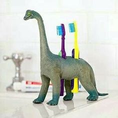 Drill a couple holes and you've got a toothbrush holder!!!