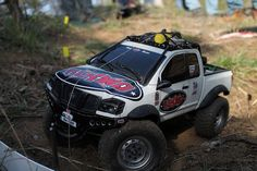 Competition truck at RC4WD Scale Trial Championship 2014-Hungary