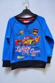 Bluza Dziecięca Auta OE1231  _A12  (3-8)