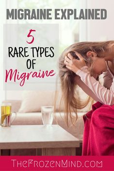 As part of the 2 classification types of Migraine there are rare types of Migraine. Here are 5 rare types of Migraine. Ocular Migraine, Hemiplegic Migraine, Migraine Relief, Severe Migraine, Pain Relief, Chronic Illness, Chronic Pain, Fibromyalgia, Types Of Migraines