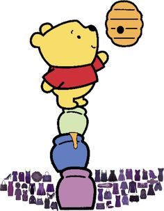 """Winnie Pooh mosaic!!!! #1"" by djdanny on Polyvore"
