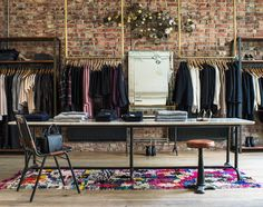 A picture from our beautiful shop. Our brands: Etoile Isabel Marant, Frame Denim, Jerome Dreyfuss, Nue Notes, Love Child, Tom Wood, Forte Forte, Des Petits Hauts and more..