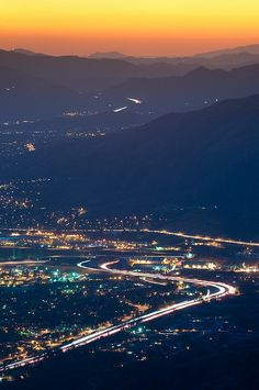 Little Tujunga Canyon View of Los Angeles by Keith Skelton - California Photography Workshops, via Flickr