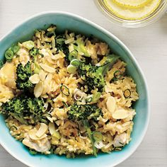 Chicken and Broccoli Rice Bowl Recipe   MyRecipes.com