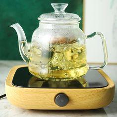 (1) Farrah Green Steam Glass Teapot Sets | Teapots | Estilo Living