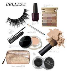 """Belleza"" by manudighero on Polyvore featuring moda, OPI, Stila, Laura Mercier, Clinique, Bobbi Brown Cosmetics, NARS Cosmetics, Marc Jacobs y MANGO"