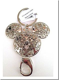 Disney Discovery- Mickey Mouse Keychain with Lobster Claw