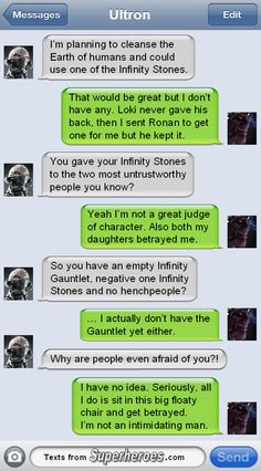 Texts From Superheroes : Photo