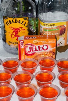Halloween Jello Shots ~ A Year of Cocktails