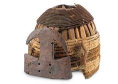 Helmet Design, Shamanism, West Coast, South America, Religion, Textiles, Crochet, Metal, Weapons Guns