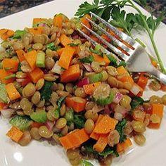 Mediterranean Lentil Salad Allrecipes.com