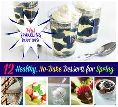 12 no-bake desserts that you can easily make that are also healthy