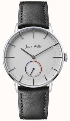 Jack Wills - In stock. Official Jack Wills UK retailer. The Jack Wills comes with free delivery, 2 year guarantee, 30 day returns and box. Mens Dress Watches, Men's Watches, Watches For Men, Jack Wills, Leather Case, Bracelet Watch, Black Leather, Clocks, Accessories