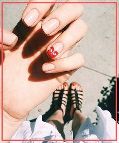 Olive and June LA Salon, Sarah Gibson Tuttle Interview | Manicure inspiration from L.A.'s coolest salon. #refinery29 http://www.refinery29.com/2015/08/92917/olive-june-nail-salon-sarah-gibson-tuttle-interview
