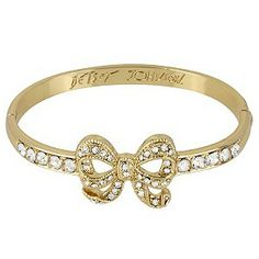 Betsey Johnson Gold Tone Bow Bangle - Product number 1398253 £49.99