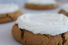 Cutler's Gingerbread Cookies with Buttercream Frosting  Cutler's Cookies