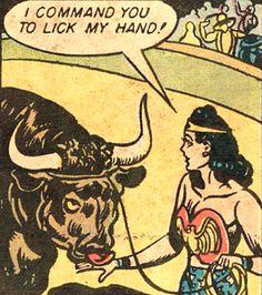 —Wonder Woman #1 (1942) by William Moulton Marston H.G. Peter