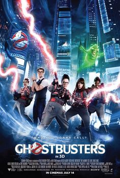 """Ghostbusters (2016) I am in love with these four ladies. Melissa shows great comedic range. I especially enjoyed her dialogue with Kristen. Leslie made me laugh out loud so many times. Kate brought the heat totally, redefining her character ( I secretly want to try her hair.) Chris is brilliant as the secretary. There hasn't been such a clever portrayal of the """"Dumb Blonde"""" stereotype since Marilyn Monroe. The cameos from the original cast were great."""