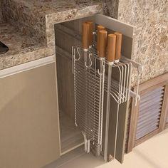 Kitchen Island Ideas with Seating & Storage Decor, Outdoor Storage Cabinet, Home, Kitchen Decor, Small Room Bedroom, Home Deco, Rustic Kitchen, Outdoor Kitchen, Kitchen Design