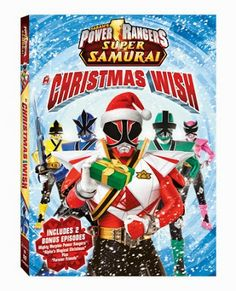Power Rangers Super Samurai: A Christmas Wish. A new action-filled Christmas adventure your kids will love. Power Rangers Dvd, Power Rangers Samurai, Mighty Morphin Power Rangers, Magical Christmas, Christmas Books, Christmas Wishes, Christmas Episodes, Christmas Decor, Christmas Holidays