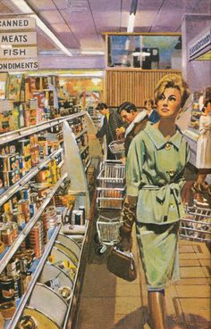 The Age of Uncertainty: The Ladybird Book of the Recession - Part Two Vintage Books, Vintage Posters, Retro Vintage, Vintage Country, Mode Vintage, Book Illustration, Graphic Design Illustration, Vintage Housewife, Ladybird Books