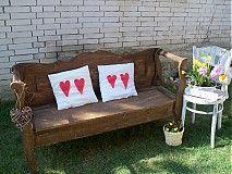 Nábytok - vidiecka oddychová lavička  - 3831655_