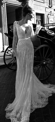 Inbal Dror Delicate Lace Detail.... Elegant & Sexy #prettyperfectday #prophire #affordable #melbourne #likeusonfacebook