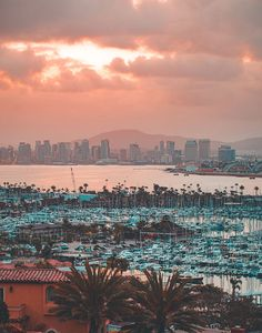 The Ultimate San Diego Morning Guide - San Diego Magazine - July 2019 - San Diego, California San Diego Travel, Pacific Beach, California Dreamin', San Francisco Skyline, Places To Go, Things To Do, Sunrise, Explore, Vacation