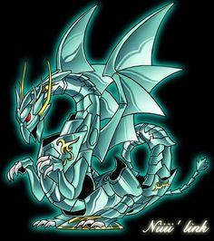 Armadura Divina de Dragón. By Niiii' Link.