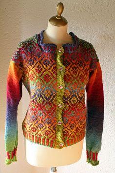 Fair Isle Jacket Kauni Wool