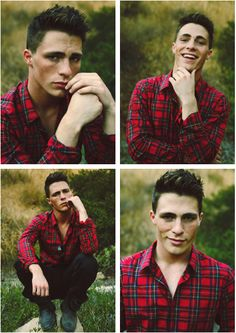 Plaid shirts... love me some plaid