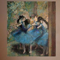 Degas Dancers in (1890) Wall Mural