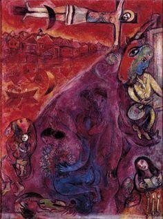 Marc Chagall Autoritratto di profilo 1914, olio su cartone Collezione Privata © Chagall ®, by SIAE 2014